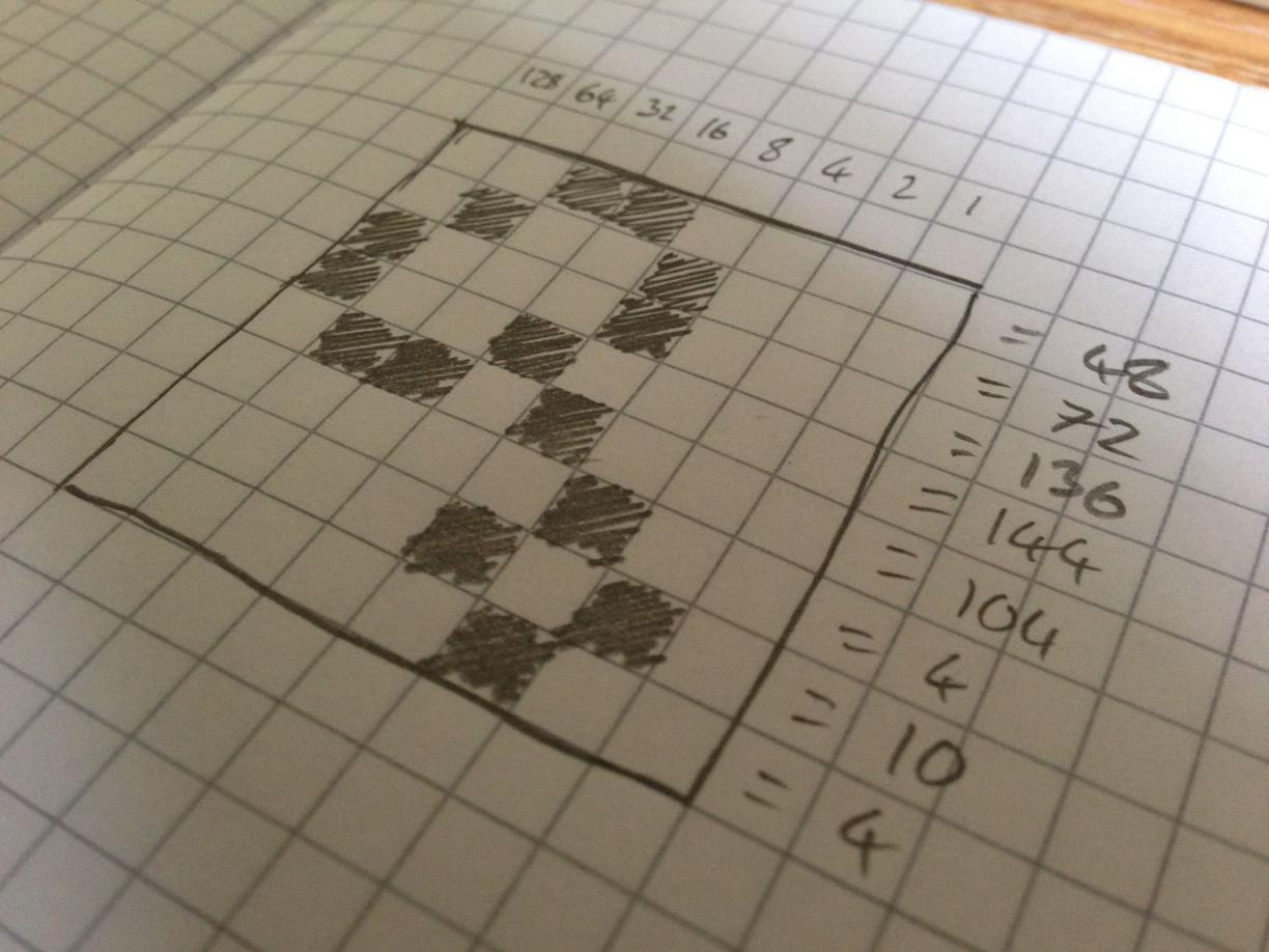 UDG on graph paper